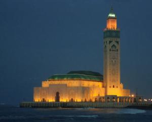 مسجد الحسن الثاني بالدارالبيضاء