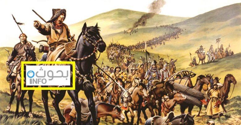 بحث حول المغول