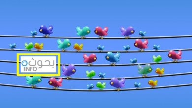 بحث حول تويتر
