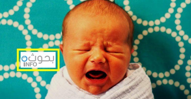 بكاء الطفل قبل النوم
